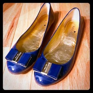 Kate Spade Blue flats